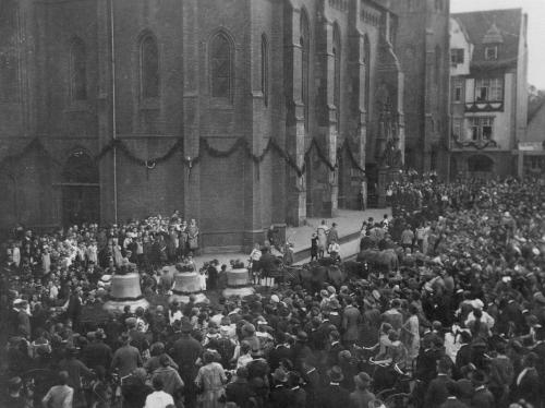 St. Lamberti im Jahre 1925