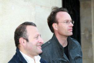 Fréderic Blanc und Tobias Götting