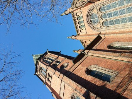 Aussenansicht Lambertikirche